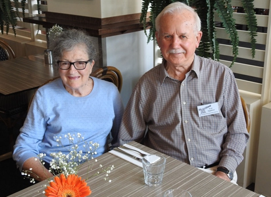Lee and Marianne Squires