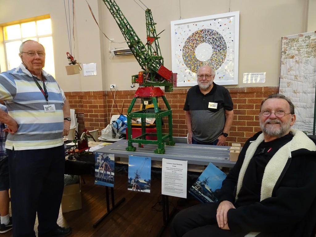 John Toohey, Keith Burston and Rick Mitchell