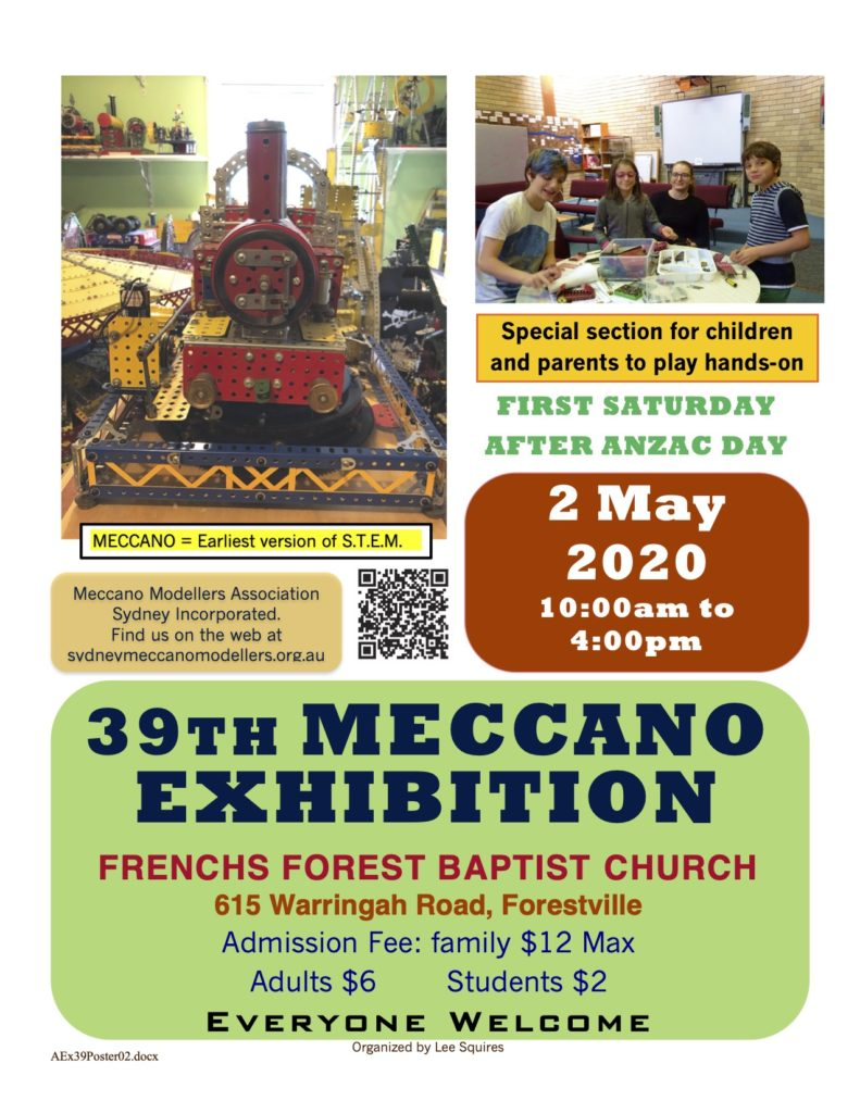 39th Meccano Exhibition